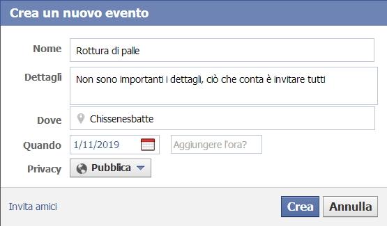 10 motivi per cui non accetterò MAI i tuoi inviti su Facebook