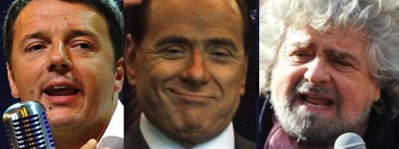 Europagelle: Renzi megl 'e Berlingue'