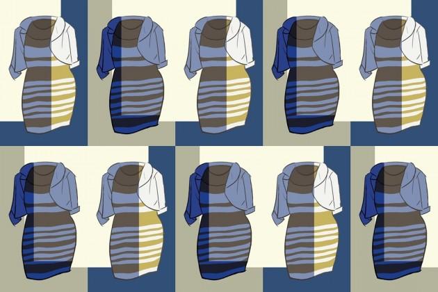 50 sfumature di vestito, la metafora della vita e della politica