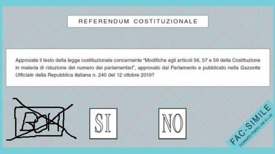 Perché voto BOH al referendum costituzionale sul taglio dei parlamentari
